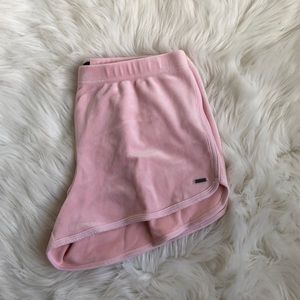 Hollister Baby Pink Shorts